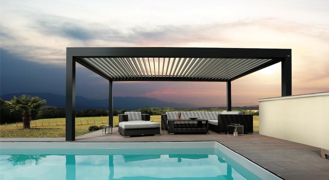 la pergola l 39 alternative esth tique et pratique la v randa. Black Bedroom Furniture Sets. Home Design Ideas